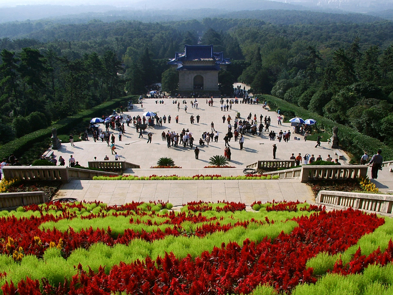 南京中山陵(组照-5) - 自然风光 - 大众摄影网