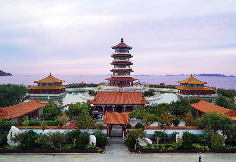 山东烟台蓬莱三仙山景区