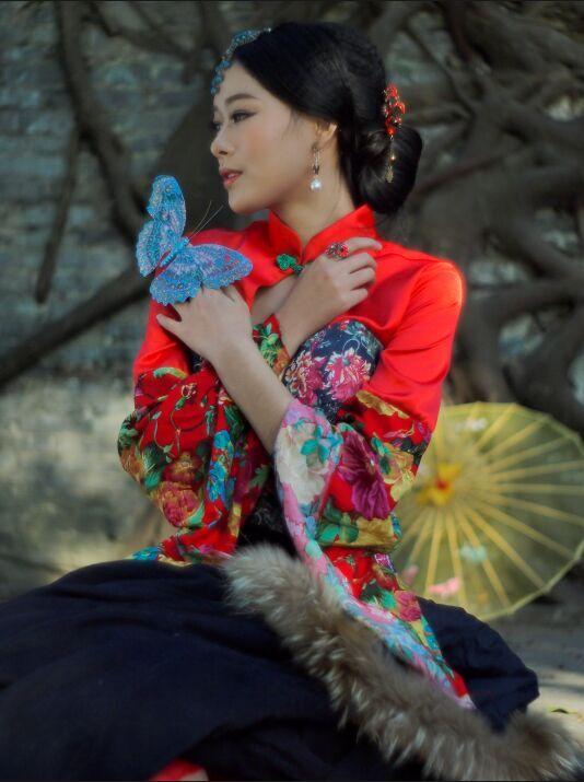 旗袍美女 中国风