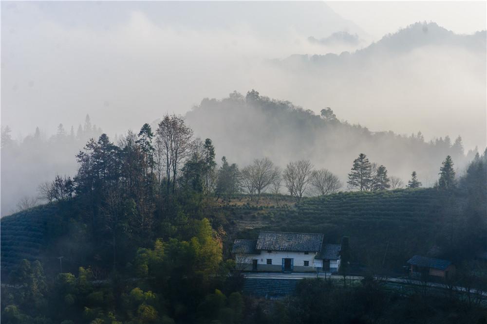 水墨山村-中国原生态最美山乡——安徽·石台 全国大