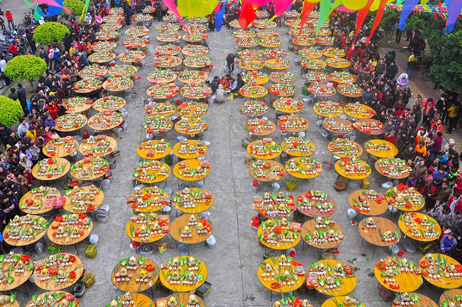 坡贞塘千鸡宴:广东省廉江市安铺镇坡贞塘年例