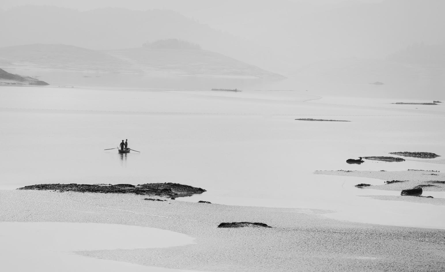 静谧-水墨翠屏湖:拍摄于2015年1月11日于翠屏湖风景区中心处,溪山