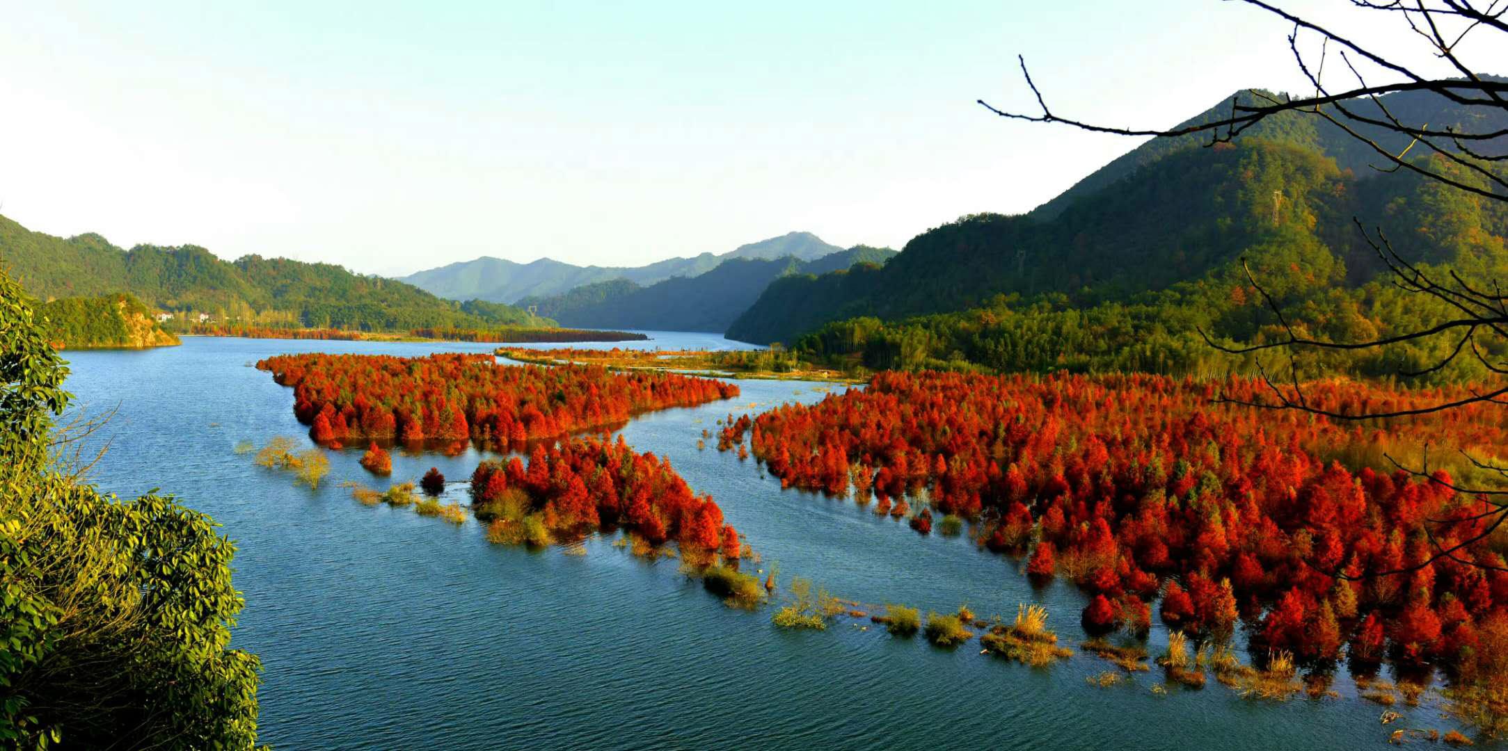安徽皖南小木屋风景