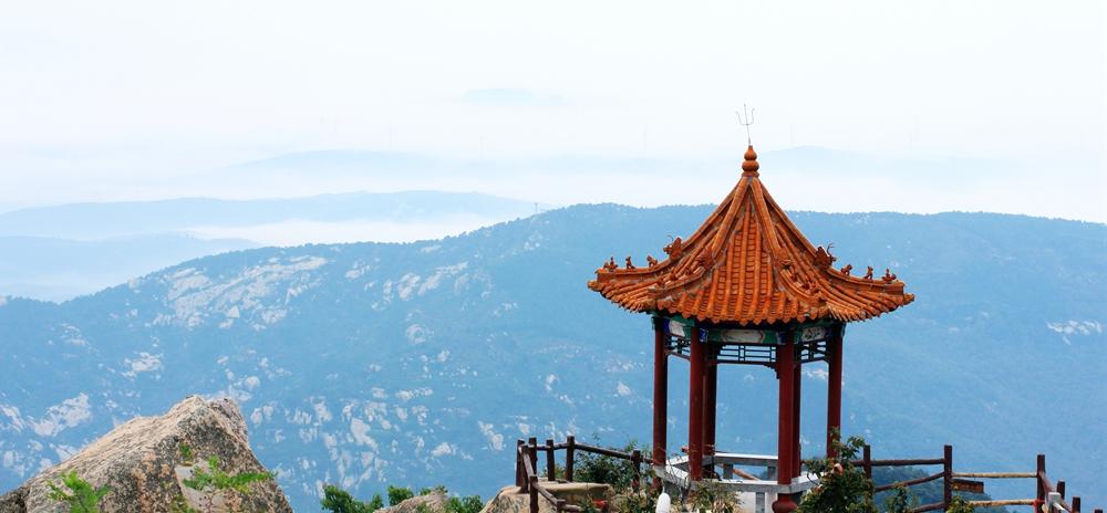 拍摄于沂山风景区