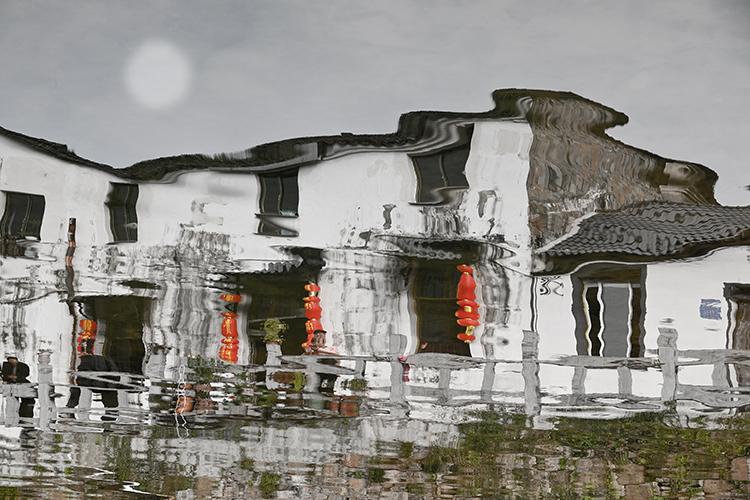 2017年11月拍摄于陵阳镇.
