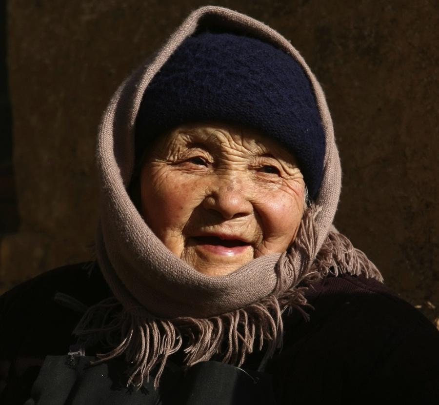 笑老人图片大全_开怀大笑的恩爱老人图片人物图片素材图片库